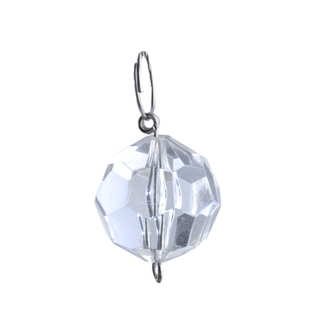 FACETED ROUND BEAD Clear Clear