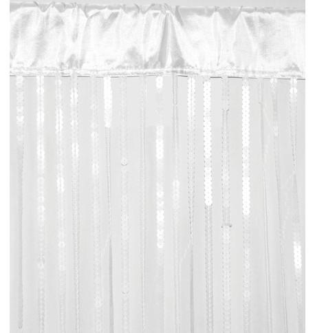 HOLLYWOOD CURTAIN - WHITE White