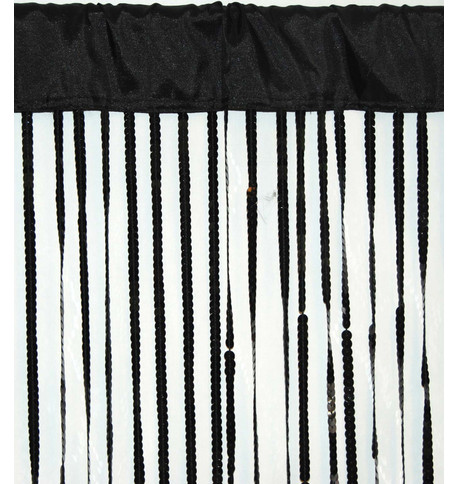 HOLLYWOOD CURTAIN - BLACK Black