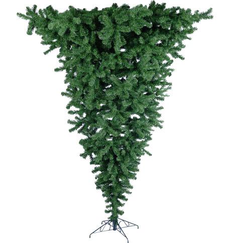UPSIDE DOWN CHRISTMAS TREE Green