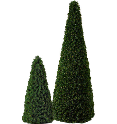 SLIMLINE CONE TREE Green