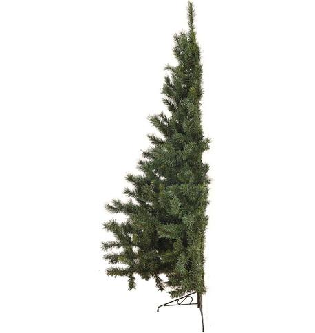 HALF CHRISTMAS TREE Green