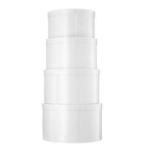 HAT BOX SET - WHITE White