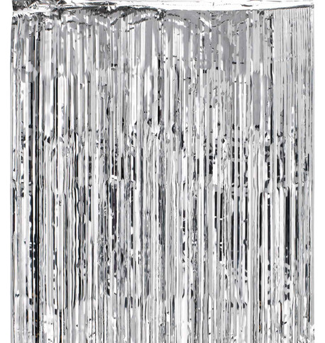 SHIMMER CURTAINS - SILVER Silver