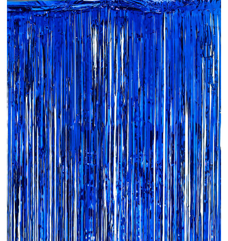 SHIMMER CURTAINS - BLUE Blue