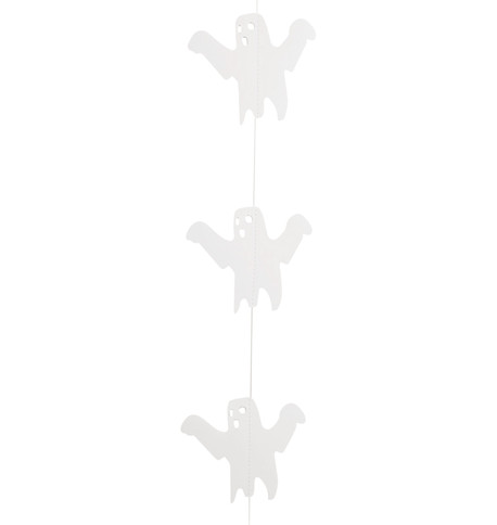 GHOST GARLAND  Wite