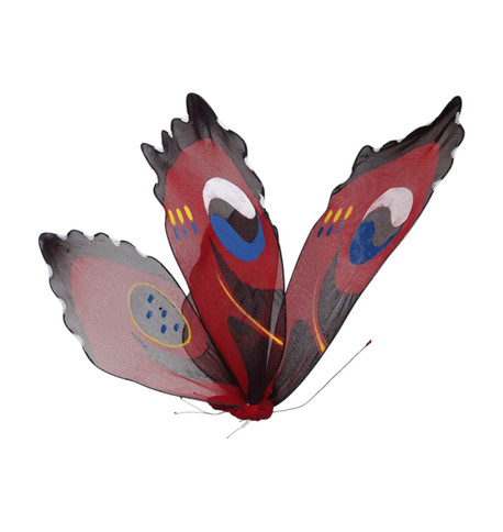 PEACOCK BUTTERFLY Red