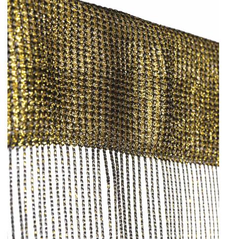 MARISSA FRINGE CURTAIN - GOLD Gold