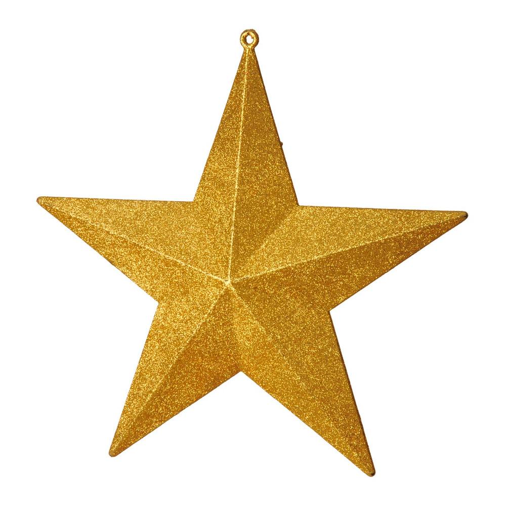 Glitter stars gold dzd