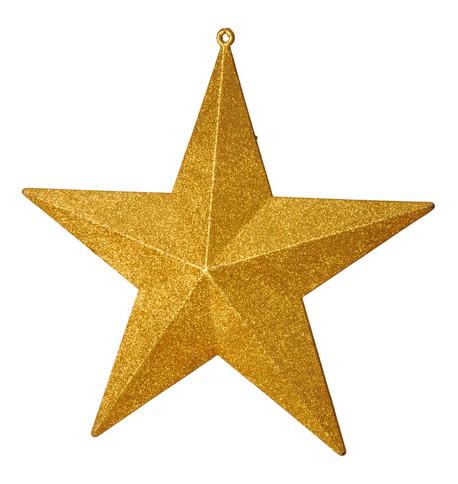 GLITTER STARS - GOLD Gold