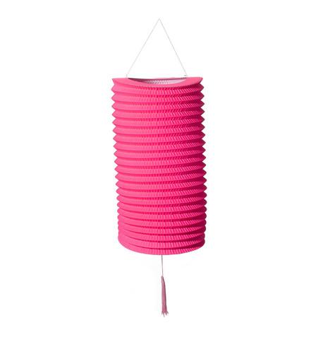 PAPER COLUMN LANTERN - PINK Pink