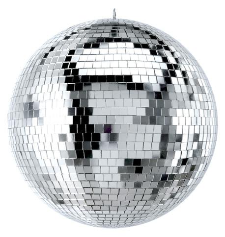 Silver Mirror Balls Silver