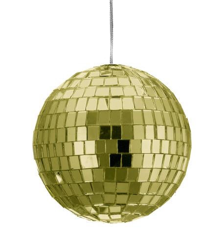 MIRROR BAUBLES - GOLD Gold