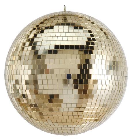 Gold Mirror Balls Gold