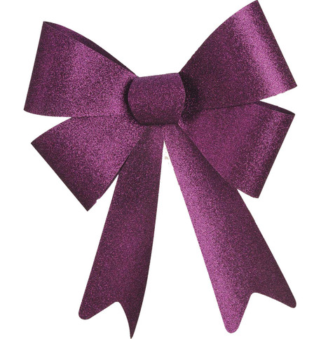 GLITTER BOWS - PURPLE Purple