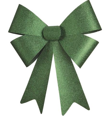 GLITTER BOWS - GREEN Green
