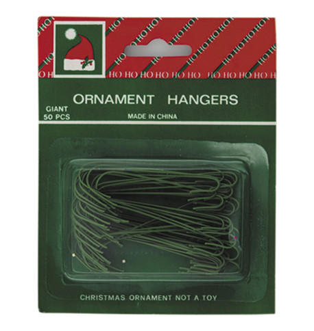 BAUBLE HANGERS - 6CM Green
