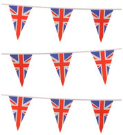 UNION JACK TRIANGLE BUNTING