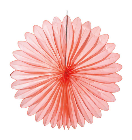 FLOWER FAN - CORAL Coral