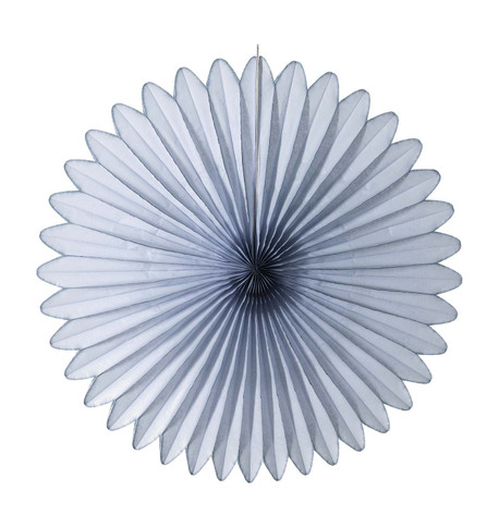 FLOWER FAN - GREY Grey