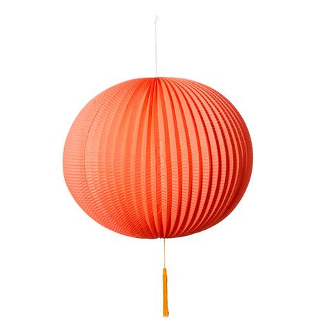 PAPER BALL LANTERN - ORANGE Orange