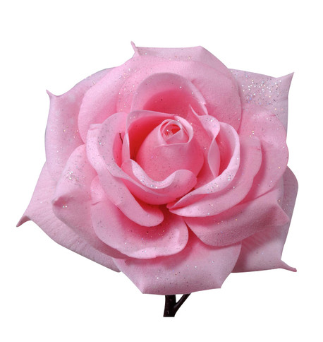 ROSE WITH GLITTER  Pink