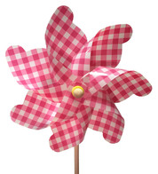 WINDMILL - PINK GINGHAM
