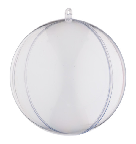 CLEAR CLIP-TOGETHER BAUBLES Clear