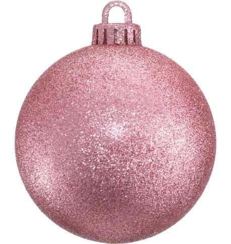 GLITTER BAUBLES - BLUSH PINK Blush Pink