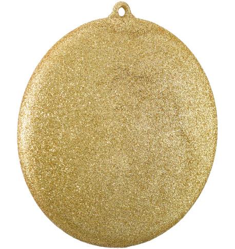 GLITTER DISCS - GOLD Gold