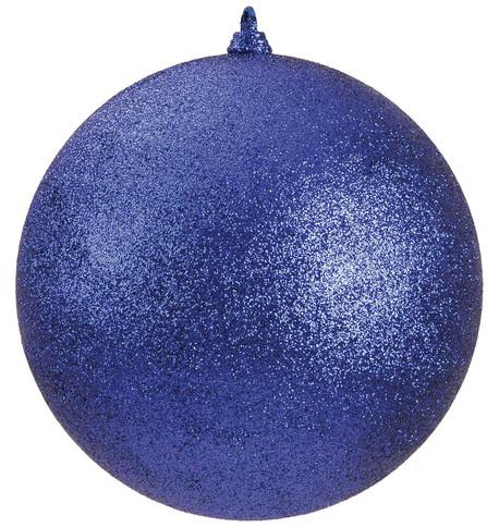 300mm GLITTER BAUBLES - BLUE Blue