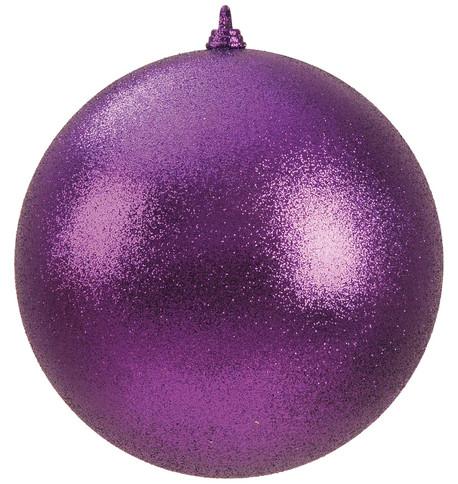 300mm GLITTER BAUBLES - PURPLE Purple