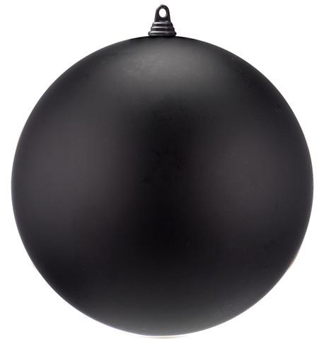 300mm MATT BAUBLES - BLACK Black