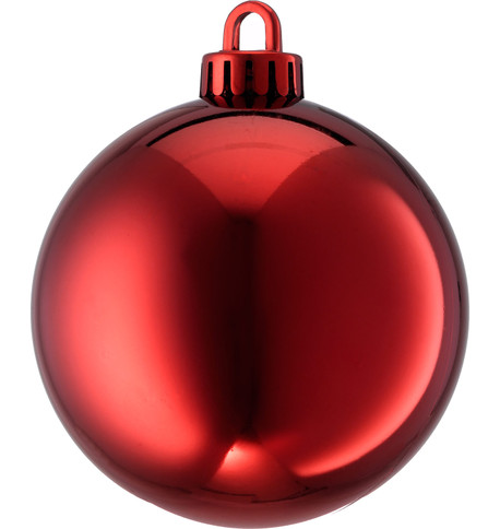 SHINY BAUBLES - RED Red