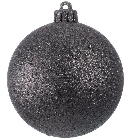 GLITTER BAUBLES - BLACK Black