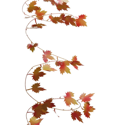 MAPLE WIRE GARLAND Multi