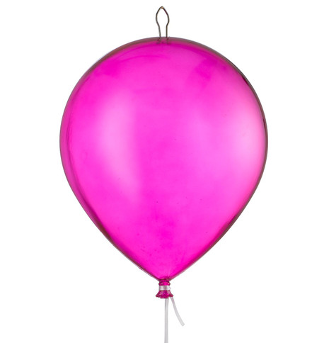 BALLOONS - CLEAR PINK Clear Pink