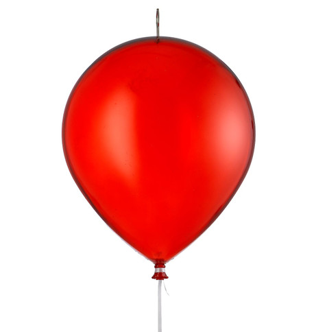 BALLOONS - CLEAR RED Clear Red