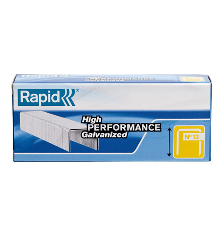 RAPID NO 13 FINELINE STAPLES Silver