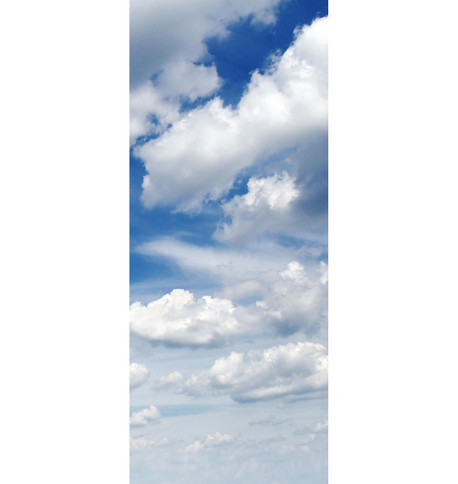 BLUE SKY BANNER Blue