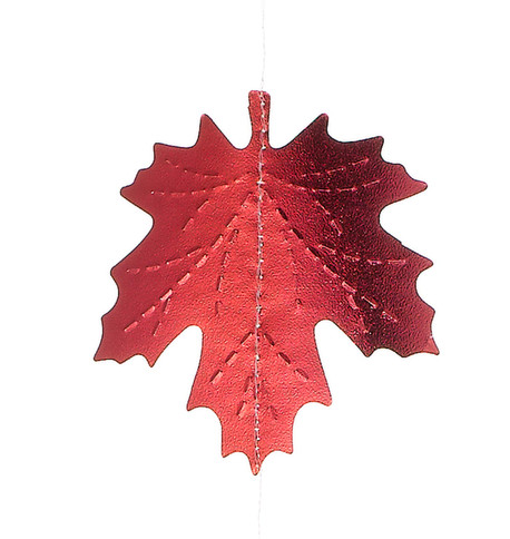 TONAL MAPLE FOIL GARLAND Multi