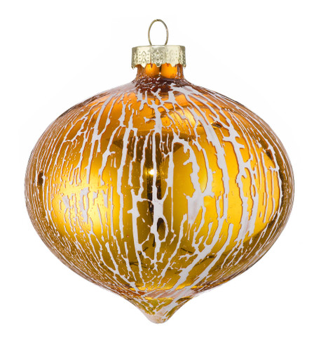 OIL GLAZE GOLD GLASS ONION Gold