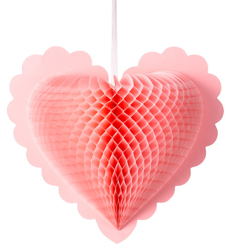 Paper fold out hearts - Pink Pink