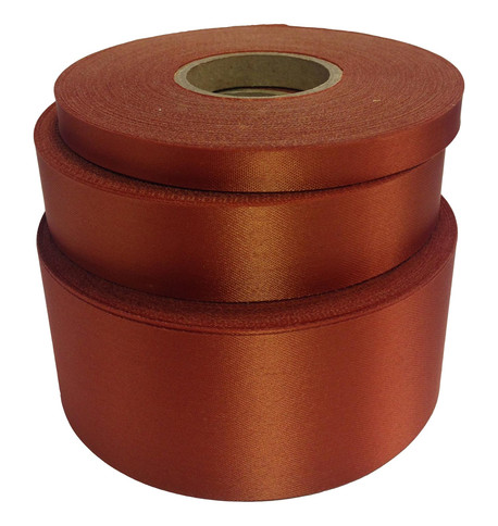 Bronze Satin Acetate Ribbon Bronze
