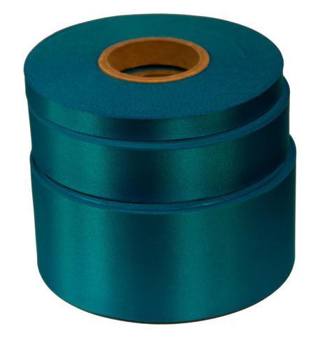 Aqua Satin Acetate Ribbon Aqua