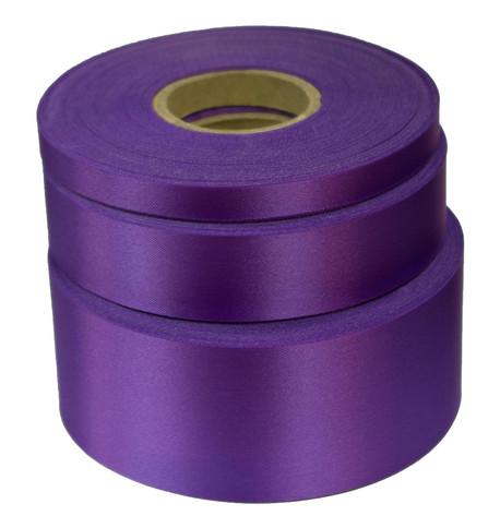 Lavender Satin Acetate Ribbon Lavender
