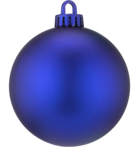 250mm MATT BAUBLES - BLUE Blue