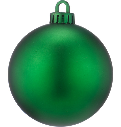 250mm MATT BAUBLES - GREEN Green