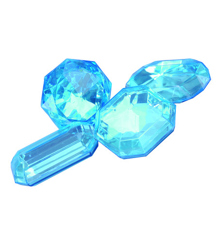 Giant Jewels - aquamarine Aqua
