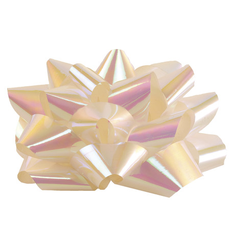 Giant parcel bow Iridescent